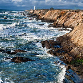 Point Arena Lighthouse by Kathleen Bishop