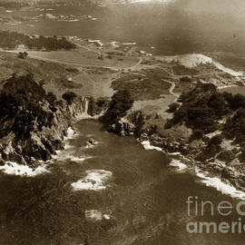 Point Lobos near Carmel California circa 1940 by California Views Archives Mr Pat Hathaway Archives