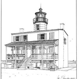 Point Lookout Lighthouse by Ira Shander