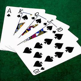Alexander Senin - Poker Hands - Royal Flush 4 v.2