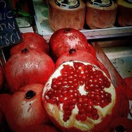 Lesa Fine - Pomegranates in Open Market III