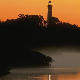 Ponce de Leon Inlet Lighthouse - FS000764 by Daniel Dempster