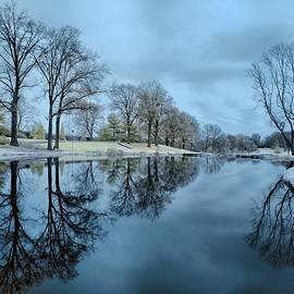 Pond in a golf club by Igor Aleynikov
