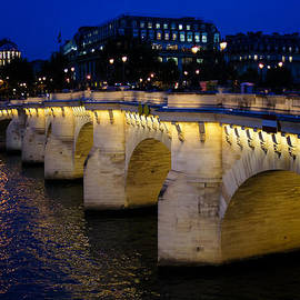 Pont Neuf Bridge - Paris - France by Georgia Mizuleva