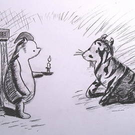 Jessica Sanders - Pooh and Tigger