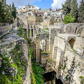 Pool of Bethesda by David Morefield