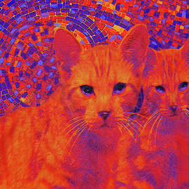 Pop Art Cats by Jane Schnetlage