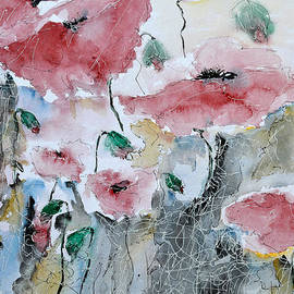 Poppies 01 by Ismeta Gruenwald