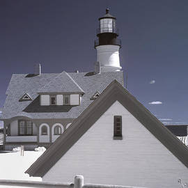 Joann Vitali - Portland Head Light in IR
