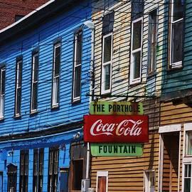 Chuck  Hicks - Portland Maine side street