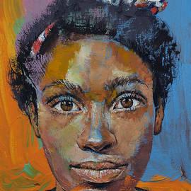 Michael Creese - Portrait of Toni