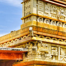Mark E Tisdale - Post Modern Mayan Architecture