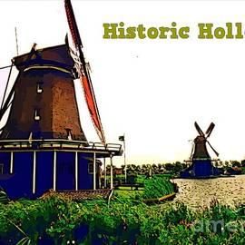 John Malone - Poster of Zaanse Schans Holland