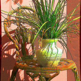 Ginny Schmidt - Potted Plant in Chair No 3