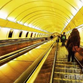 Prague - metro Andel by Justyna Jaszke JBJart