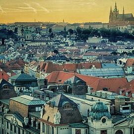 Joan Carroll - Prague Castle Sunset