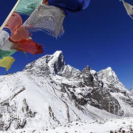 Robert Preston - Prayer Flags and Mountains