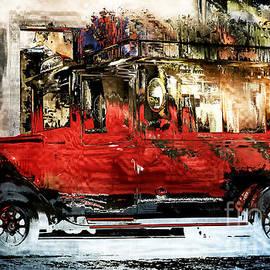 Barbara D Richards - Christmas Wagon