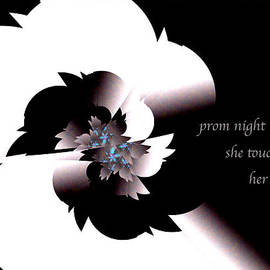 Prom Night Haiga by Judi Suni Hall