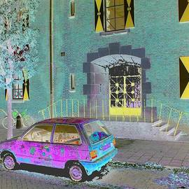 Psychedelic street view by Marco Carr