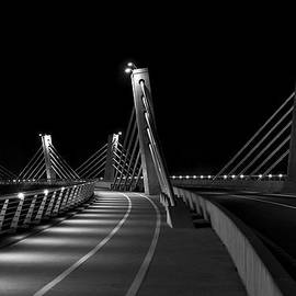Ivan Slosar - Ptuj bridge BW