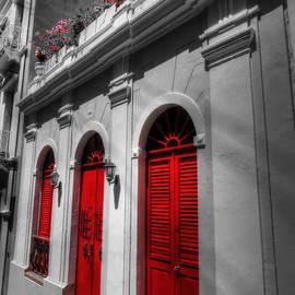 Puerto Rico - Old San Juan 012 by Lance Vaughn
