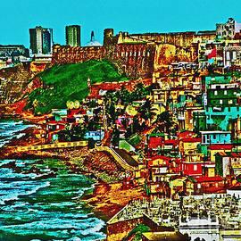 Carol F Austin -  Old San Juan Puerto Rico Walled City