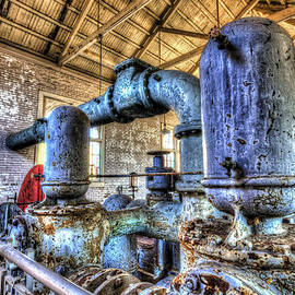Pumping Station I by Harry B Brown