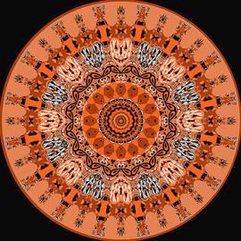 Joy McKenzie - Pumpkins Mandala