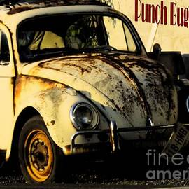 Punch Buggy Rust by Robyn King