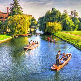 Ross Henton - Punting in Cambridge