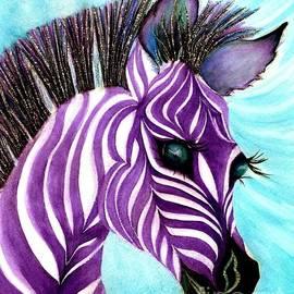 Purple baby Zebra