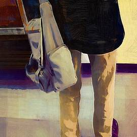RC deWinter - Purple Shoes at the Museum
