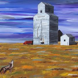 Mike Nahorniak - Purple Sky Grain Elevator