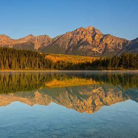 Michael Leonard - Pyramid Mountain Reflection