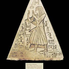 Pyramidion of Ramose by Nicholas Romano