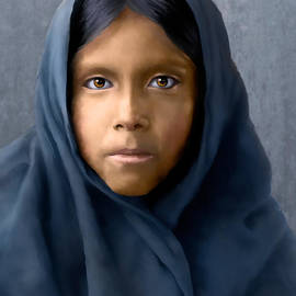Qahatika Girl by Rick Mosher