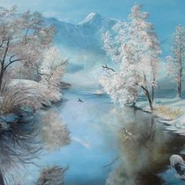 Quiet Ice  by Sorin Apostolescu