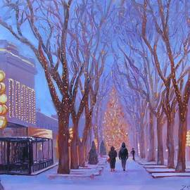 Laura Lee Zanghetti - Quincy Market at Twilight