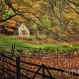 Thomas Schoeller - Rustic Shack- New England Autumn