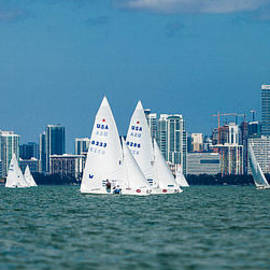 Racing past Miami by David Smith