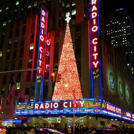 Radio City at Christmas Time - Holiday and Christmas Card