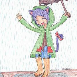 Rain Kitty by Emma Gallant