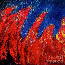 Ania M Milo - Rain on Fire