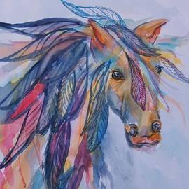 Rainbow Horse Spirit by Ellen Levinson