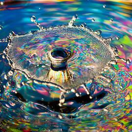 Rainbow Splash by Anthony Sacco