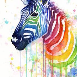 Rainbow Zebra - Ode to Fruit Stripes