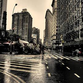 David Bearden - Raining on Flatiron