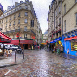 Rainy Day In Paris by Dustin  LeFevre