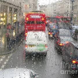 Ann Horn - Rainy Day London Traffic